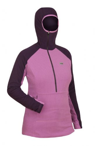 Paramo Ladies Grid Technic Hoodie - Elderberry / Foxglove